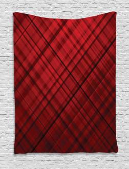 Scottish Kilt Pattern Tapestry