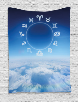 Zodiac Signs on Air Tapestry