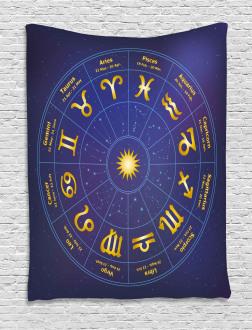 Horoscope Birth Dates Tapestry