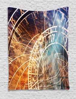 Old Prague Horoscope Tapestry