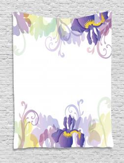 Classic Petals Pastel Tapestry