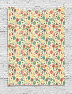 Flower Bouquet Botany Tapestry