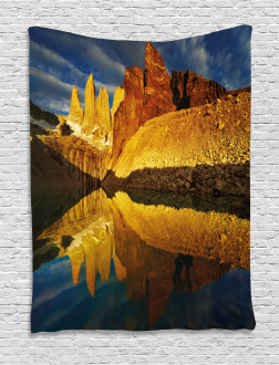 Lake Torres Del Paine Tapestry