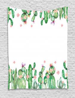 Tender Romantic Blossoms Tapestry