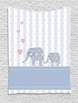 Happy Newborn Tapestry