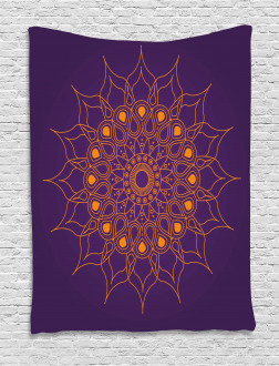 Mystic Sun Icon Tapestry