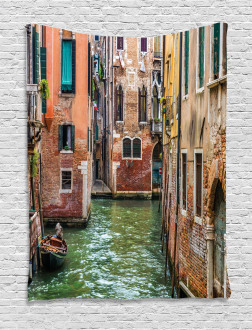 Famous Streets on Water Tapestry
