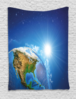 United States in Space Tapestry