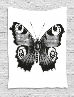 Butterfly Art Tapestry