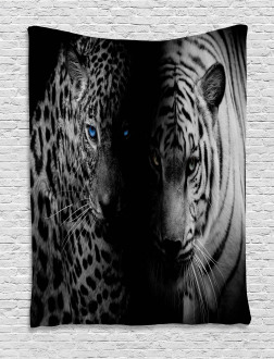 Wild Leopards Tapestry