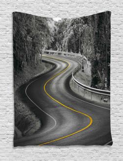 Asphalt Road Tapestry