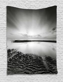 Idyllic Sunrise Tapestry