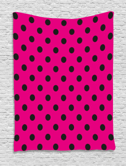 Pop Art Inspired Dots Tapestry