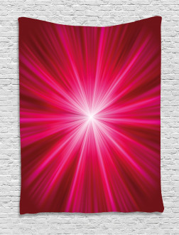 Vivid Burst Futuristic Tapestry