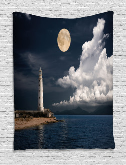 Old Lighthouse by Sea Tapestry