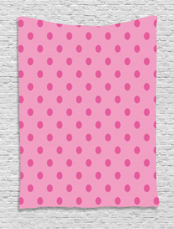 Classical Simple Dots Tapestry