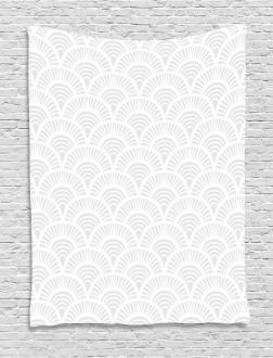 Vintage Circles Tapestry