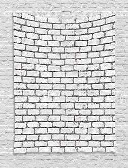 Retro Brick Wall Tapestry