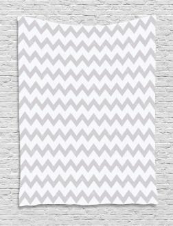Geometrical Zigzag Tapestry