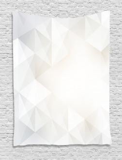 Polygon Contemporary Tapestry