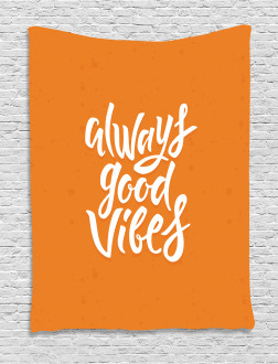 Good Vibes Positive Tapestry