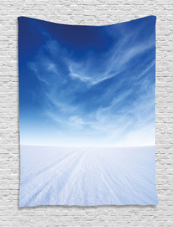 Snowy Mountain Photography Tapestry