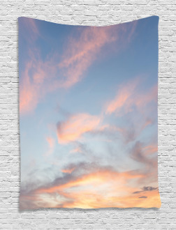 Clouds Sunset Inspiring Tapestry