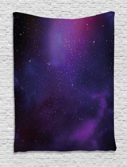 Galaxy Themed Nebula Star Tapestry