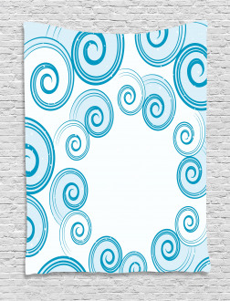 Water Waves Tapestry