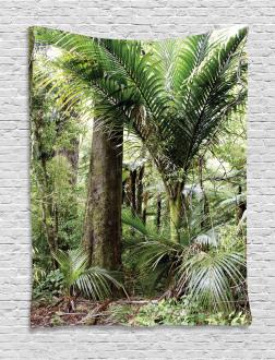 Lush Foliage Jungle Tapestry