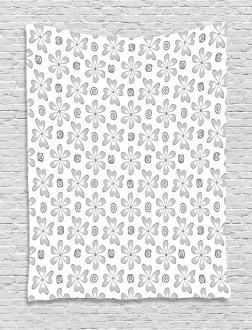 Daisy Art Concept Tapestry