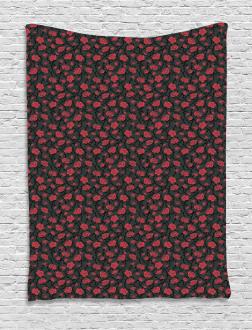 Romantic Vintage Rose Tapestry