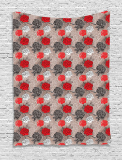 Blossoming Peony Tapestry