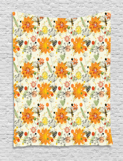 Cheerful Spring Art Tapestry