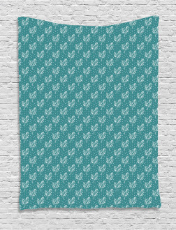 Abstract Dots Arrangement Tapestry