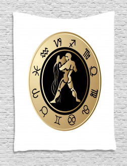 Horoscope Signs Tapestry