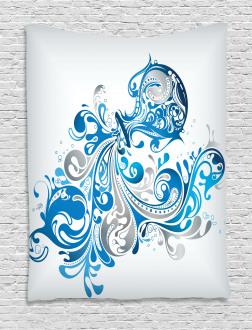 Bucket Scroll Tapestry