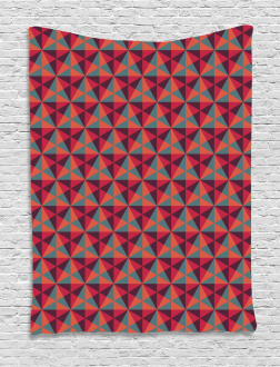 Triangles Mosaic Tapestry