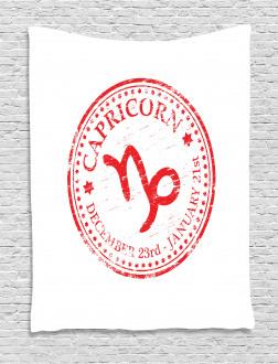 Horoscope Sign Tapestry