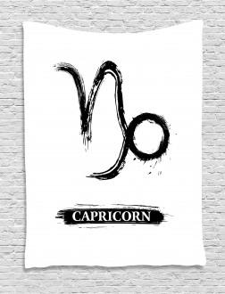 Ink Symbol Tapestry