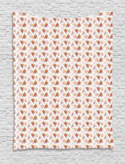 Ornate Ethnic Polygon Tapestry