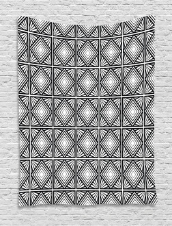 Geometric Mosaic Shape Tapestry