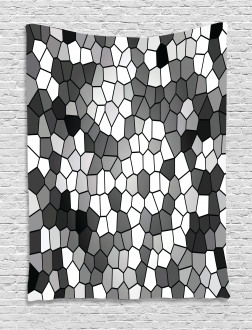 Stained Glass Mosaic Tapestry