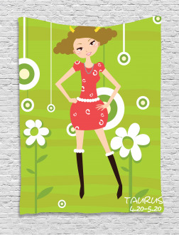 Fashion Teen Girl Tapestry