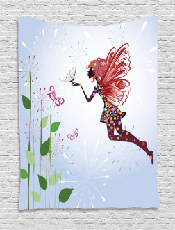 Butterfly Wing Fairy Tapestry