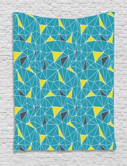 Fractal Shapes Tapestry