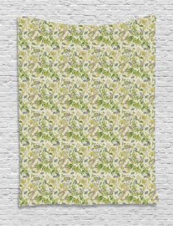 Pastel Shade Nature Tapestry