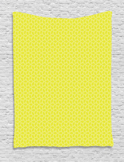 Abstract Juicy Lemons Tapestry
