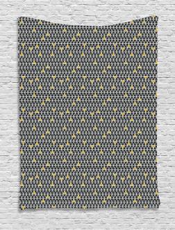 Simplistic Rhombus Tapestry