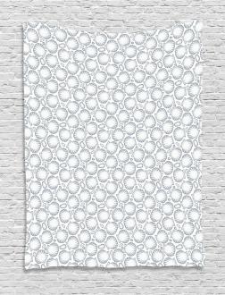 Pointilist Scallops Tapestry
